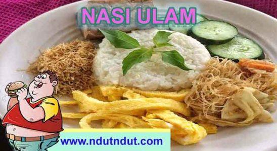 Makanan Kuliner Nasi Ulam Khas Betawi