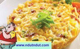 Omelet Mie | Resep Sederhana Pengolahan Mie