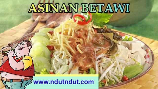 Makanan Kuliner Asinan Betawi | Kuliner Khas Betawi