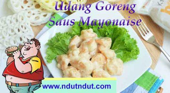 Udang Goreng Saus Mayonaise | Sajian Seafood Khas Chinese