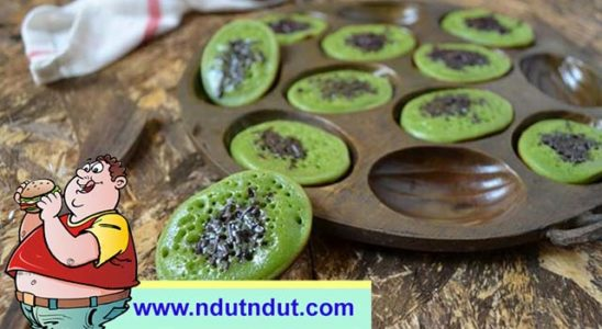kue cubit green tea